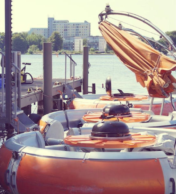 Grillboot Verleih