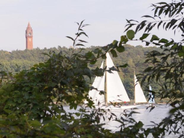 Ausflug Brandenburg Aussicht Grunewaldturm