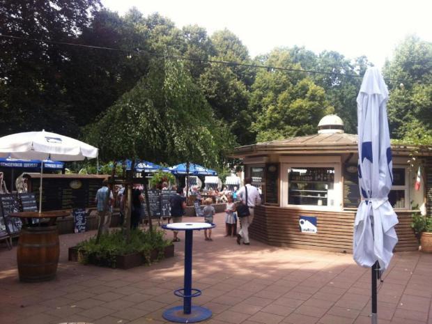 Biergarten im Bürgerpark