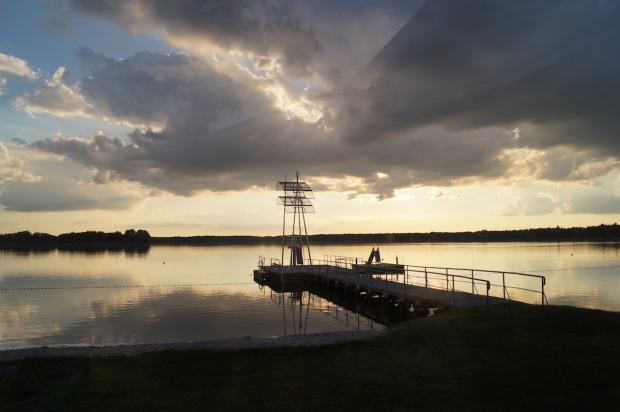 Sonnenuntergang Wandlitzsee