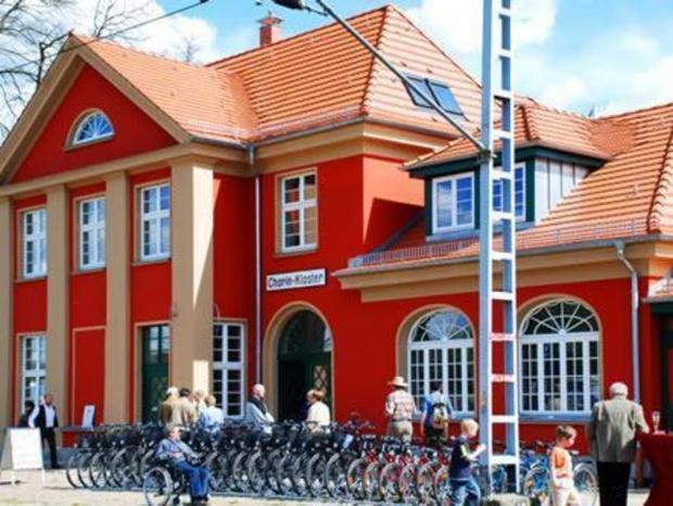 Bahnhof Fahrradverleih Chorin