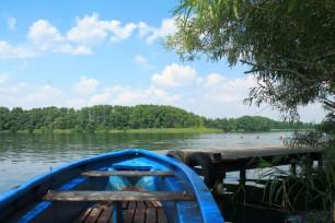 Baden Boot Wasser Hof Kokurin