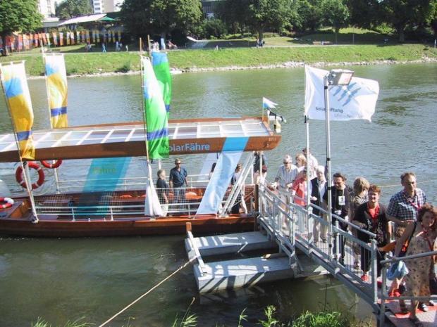 Solar Boot fahren Schermützelsee flickr