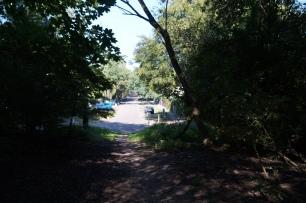 Eingang Tegler Forst