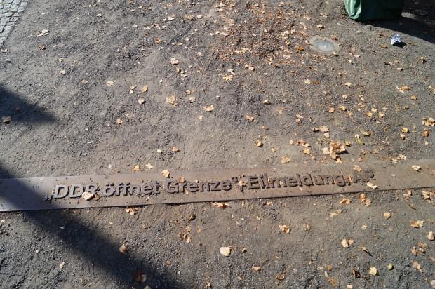 Bornholmer Strasse Ausflug 3.Oktober