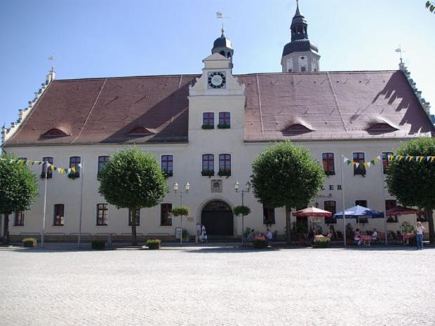 Rathaus Herzberg historischer Stadtkern