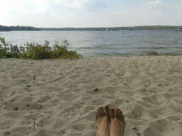 Badestelle am Wannsee
