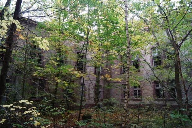 Innenhof Beelitz Heilstätten