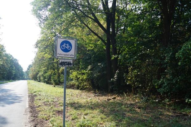 Fahrradstrasse Grunewald