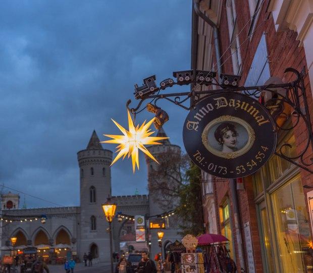 Advent im holländischen Viertel in Potsdam