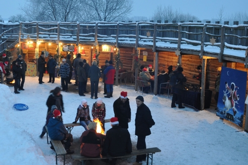 Weihnachtsmarkt Slawendorf Brandenburg