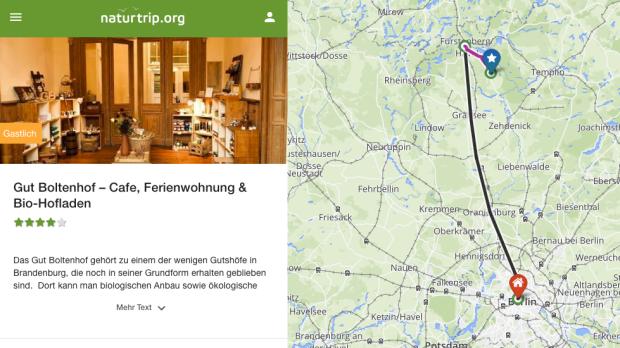 Gut Boltenhof Brandenburg ÖPNV