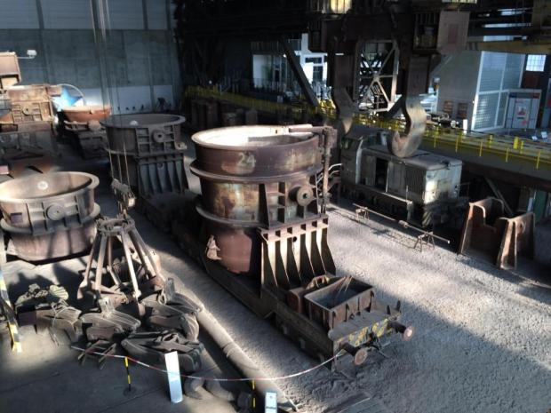 Gießhalle im Industriemuseum Brandenburg
