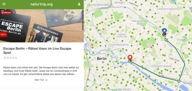 mit naturtrip.org zum LIVE Escape Berlin