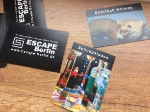 Escape Berlin Sherlock Holmes