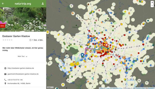 Karte von naturtrip.org