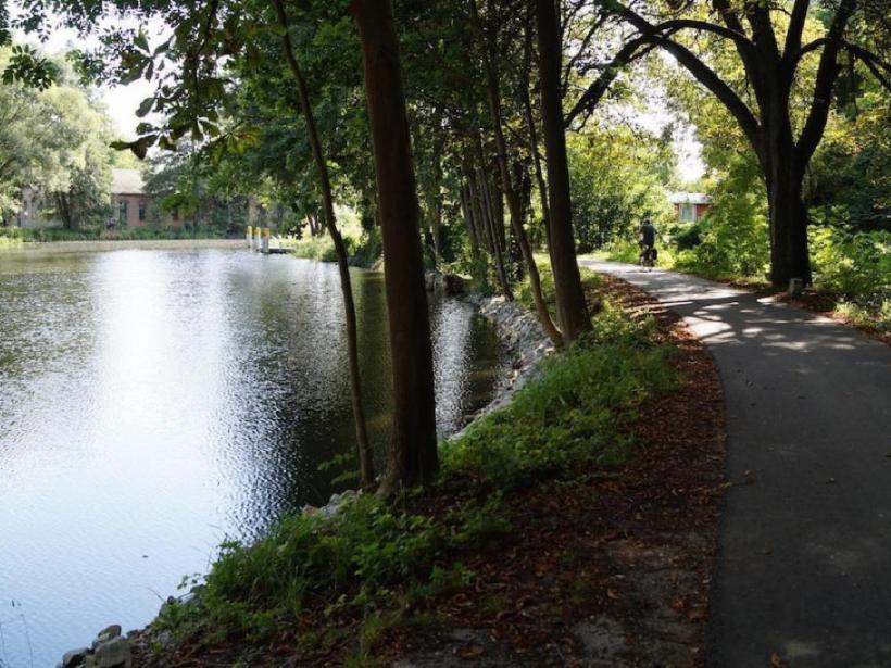 Treidelweg Brandenburg Fahrrad