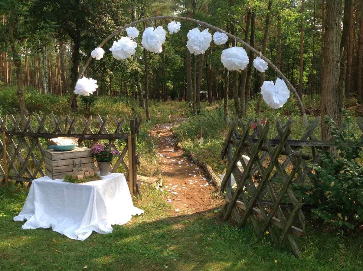 Hochzeit Wald Borkheide