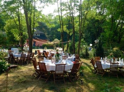 Wald Paradies Borkheide Hochzeit