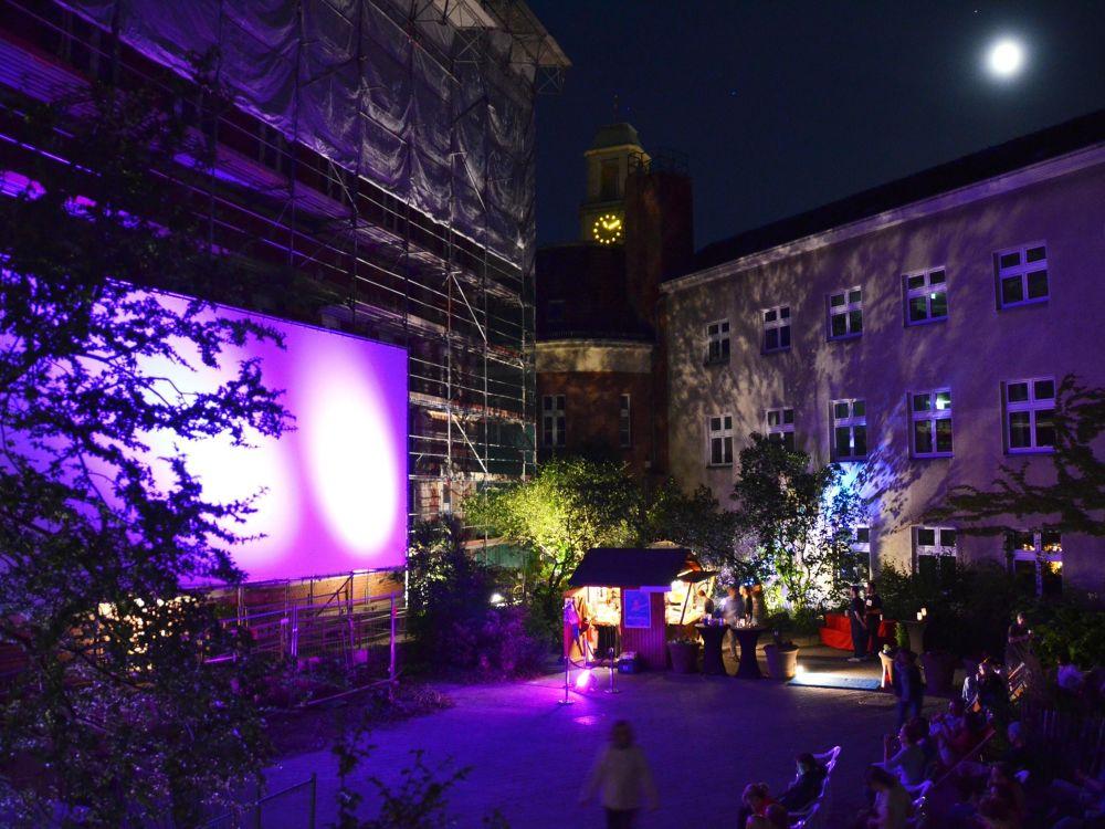 Das Open Air Kino SpandauFoto © Mikropolis-Film Open Air Kino Spandau